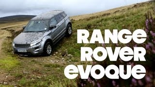 Top Gear Magazine Range Rover Evoque Challenge Road Test