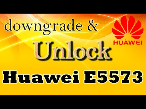 Unlock E5573s With Downgrade And How To Insert Any Custom Web Ui In Modem Device.
