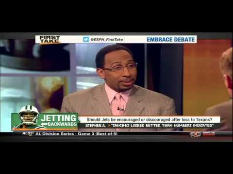 ESPN First Take on Tim Tebow & New York Jets - Make the Change!  Stop Jets Fans Bleeding!