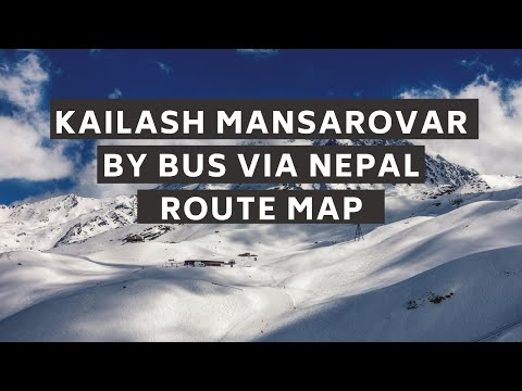 Kailash Kyirong Overland Route Map Traveldost