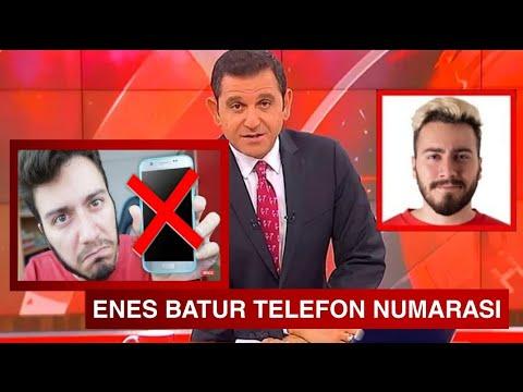 ENES BATUR'UN TELEFON NUMARASINI BULDUM WHATSAPPTA YAZIŞTIK(GERÇEK)