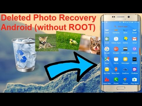2 Powerful ways to recover deleted photos from the Android gallery | Without Root.