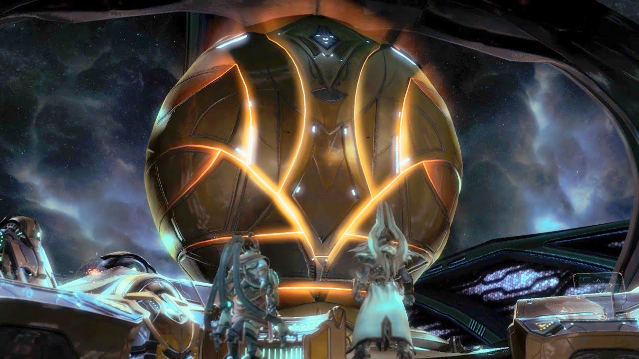 Solar Core Karax Briefs Artanis On Protoss Technology