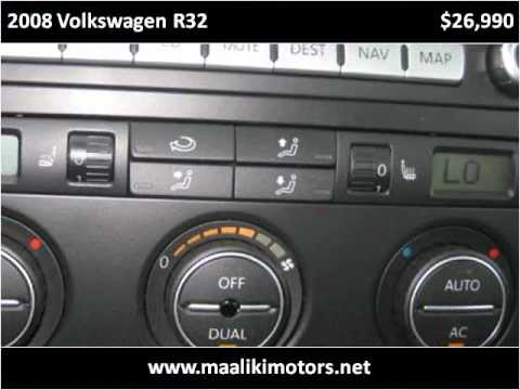 2008 Volkswagen R32 Used Cars Aurora CO