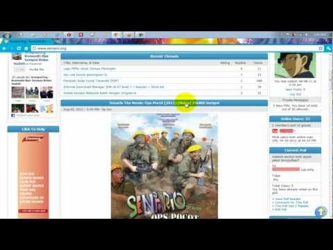 Tutorial Download Movie For Forum Sempoi.Org [HD]