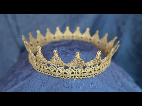 how to make a crown super easy youtube