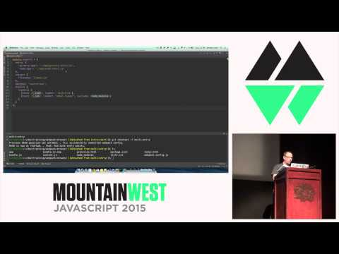 MountainWest JavaScript 2015 - Gift Wrap Your Code with Webpack by Jeremy Lund