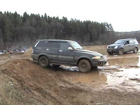 SsangYong Musso Off-Road 4x4.mpg