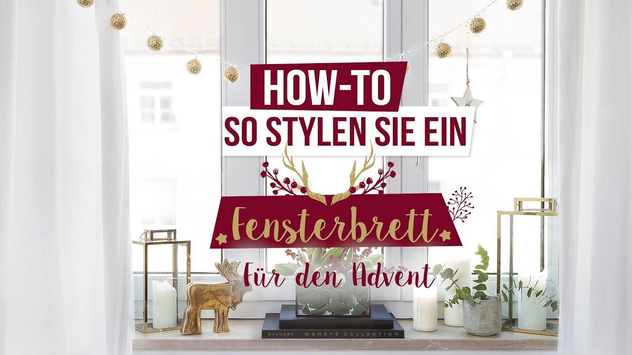 Weihnachtliche Fensterdeko Westwing Diy Tipps Youtube