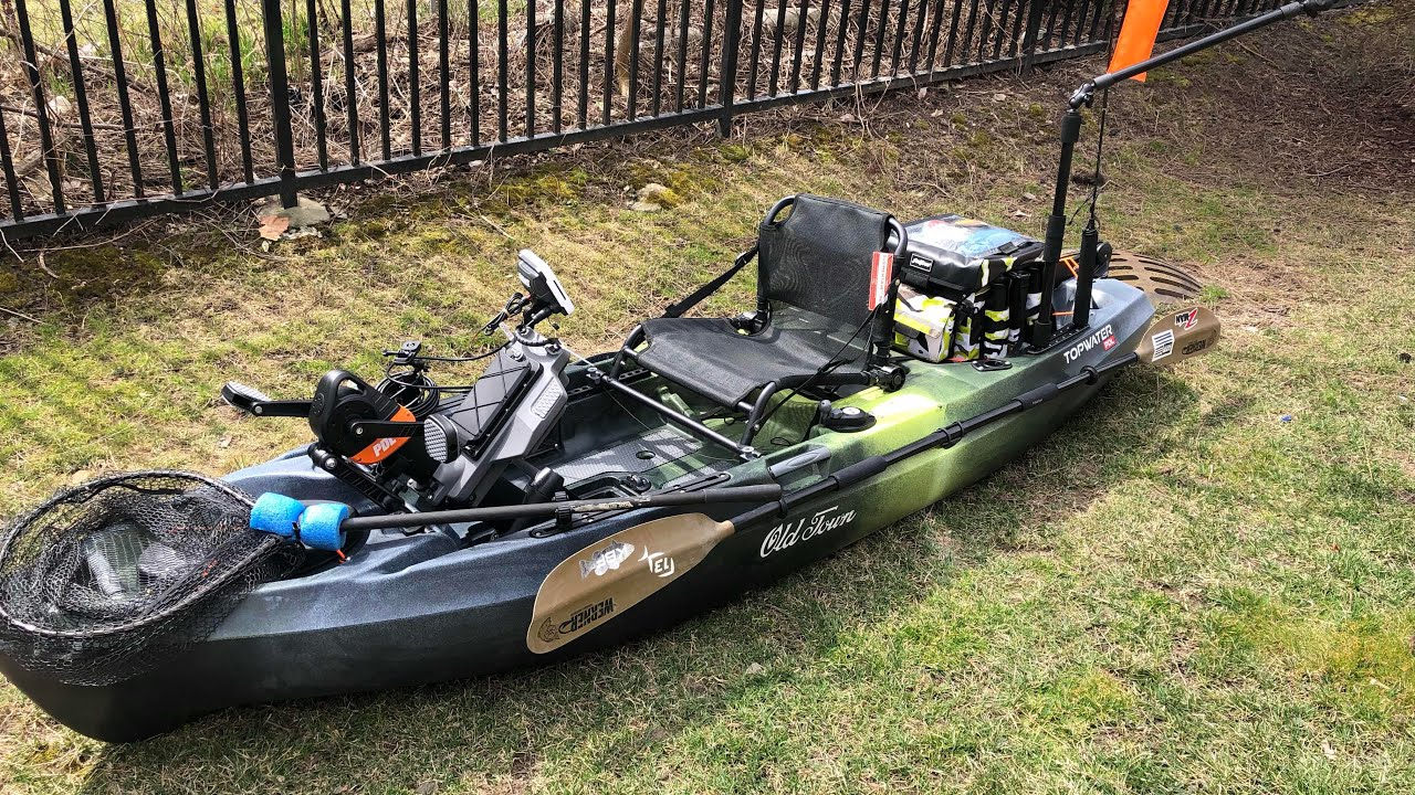 Old town topwater pdl first trip review