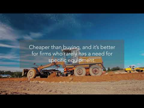 Pros And Cons Of Leasing Construction Equipment