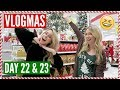 What I Got for Christmas, Target Adventures, + Stef's Injury | Vlogmas Day 22 & 23