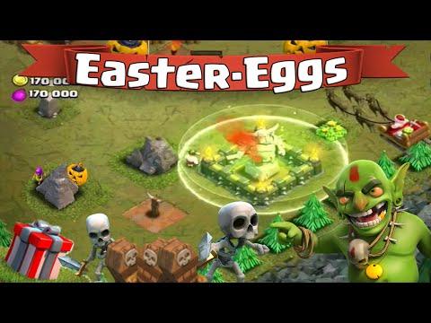 Clash of Clans Easter-Eggs | Les Secrets des Maps Gobelins, Père Noël, Citrouilles et Squelettes