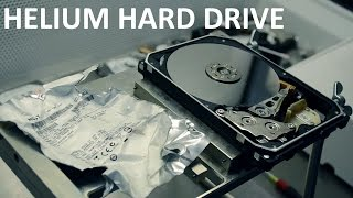 Opening the HGST helium hard drive - HddSurgery