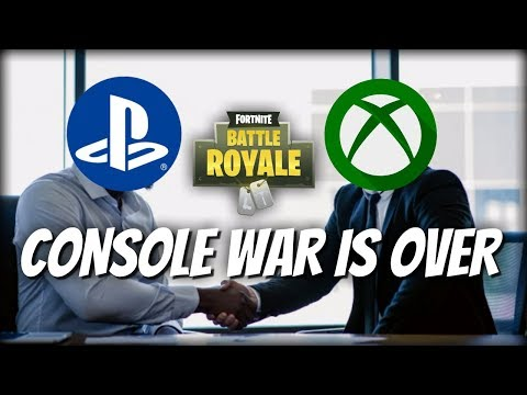 CONSOLE WAR IS OVER | PS4 AND XBOX FORTNITE CROSSPLAY | PS4 FORTNITE