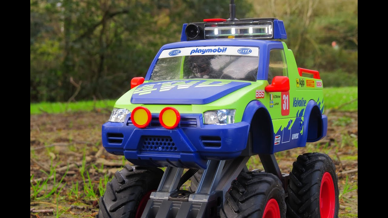 Playmobil Rc Monster Truck Water And Snow Youtube