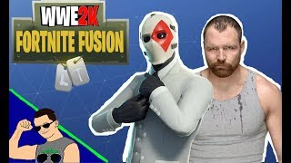 Fortnite Fusion: Dean Ambrose as Wild Card # 9 (WWE 2K Fortnite Fusion)