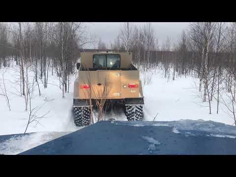 вездеходы Зырянин.  Как мы спасали горный снегоход