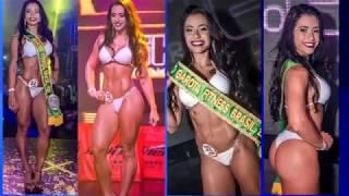 Garota Fitness Brasil 2017 diz: 'Sentia vergonha do meu corpo'.