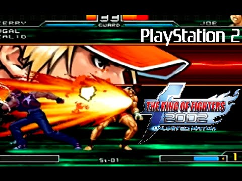 The King Of Fighters 2002 Unlimited Match Playthrough Ps2 Youtube
