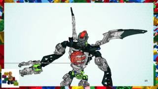 LEGO instructions - Bionicle - 8952 - Mutran and Vican