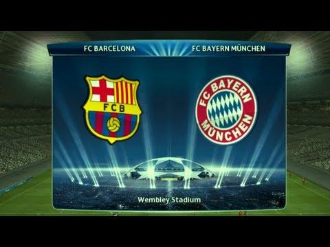 PES 13 Champions League FINAL : Barcelona - Bayern Munchen
