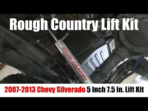 6 Inch Lift Kit For Chevy Silverado 1500 >> Rough Country Lift Kit – 5 Inch Lift, 7.5 Lift for 07-13 ...