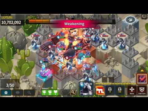 FWT Fantasy War Tactics Saturday Guild Raid I 15P in Coop I Double Cele 2# 6,8M
