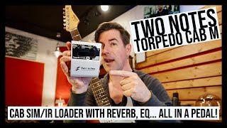 AWESOME CAB SIM/EQ/REVERB and MORE... TORPEDO CAB M!