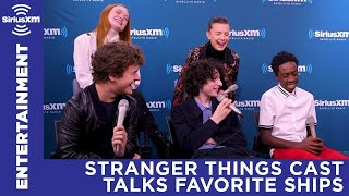 Stranger Things cast talks favorite ships | SiriusXM Entertainment Weekly Radio