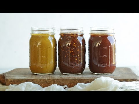 How to Make 3 Different Kinds of BBQ Sauce | The Inspired Home