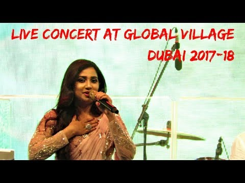 Shreya Ghoshal Best live performance at Global Village Dubai 2017-18
