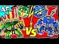 LLOYD vs JAY Lego Ninjago MECH BATTLE 2 Ending A