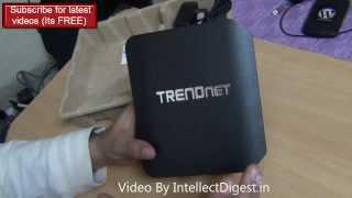 Trendnet AC1750 Dual Band Wireless Router Unboxing And Hands On Review Video HD