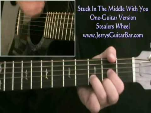 How To Play Stealers Wheel Stuck In The Middle With You (intro only ...