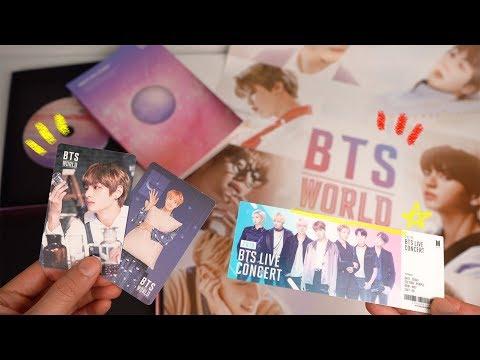 BTS World OST 앨범 언박싱! (+Missing Bridge 해석) BTS World OST Album Review!