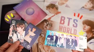 BTS World OST 앨범 언박싱! (+Missing Bridge 해석) BTS World OST Album Review!