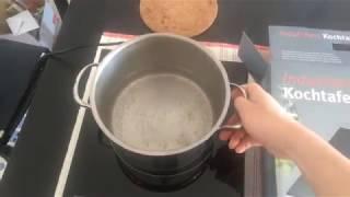 Giới thiệu và hưỡng dẫn cách sử dụng bếp từ đơn Rommelsbacher
