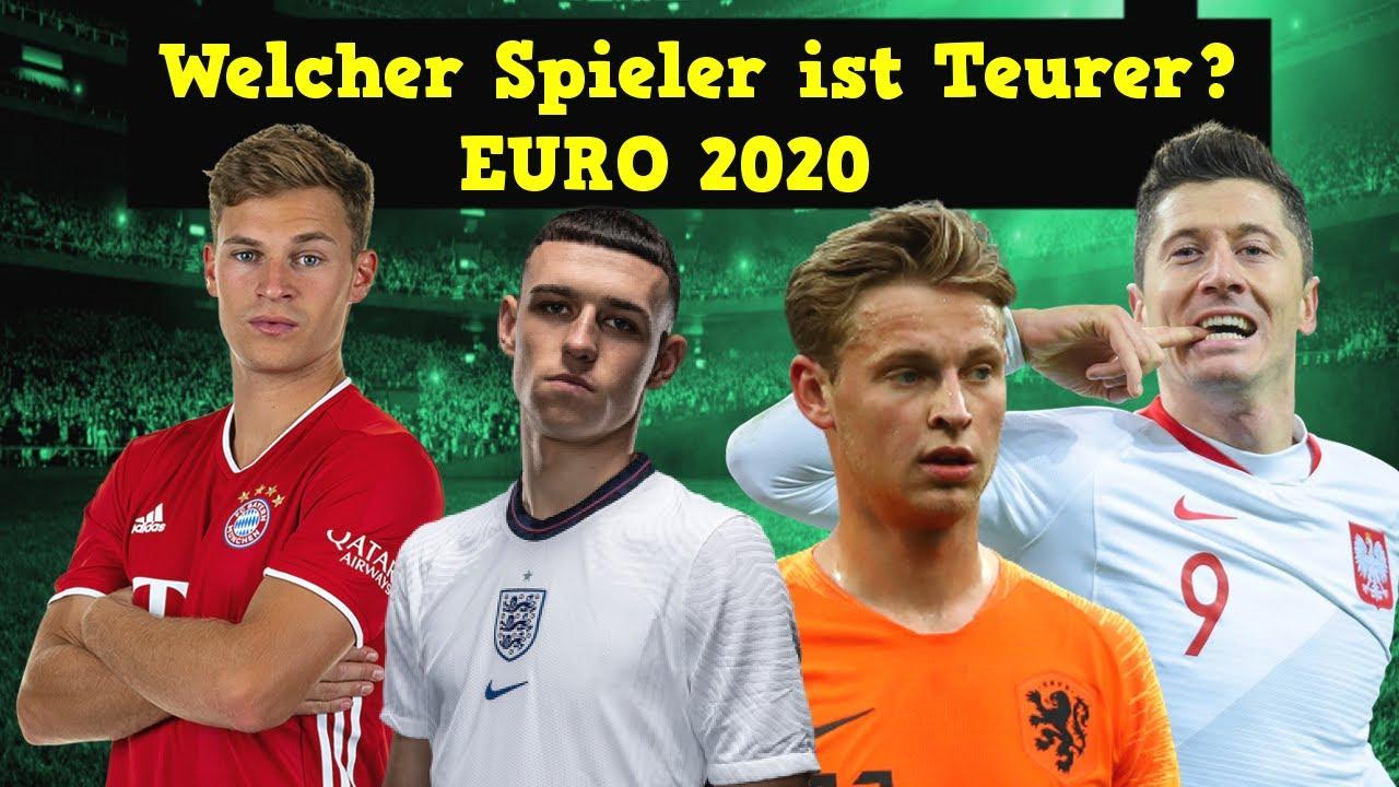 Welcher Fußballer ist teurer? Euro 2020 - Fussball Quiz 2021