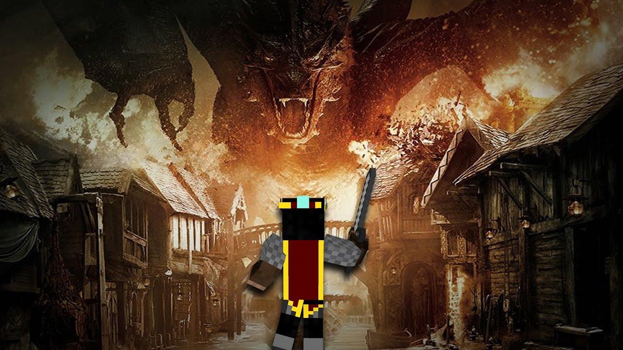 SMAUG VERSLAAN Minecraft The Hobbit Battle Of The Five Armies