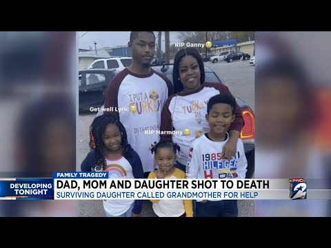 Dad, Mom and  Daughter Shot to Death, Daughter Played Dead and Survived