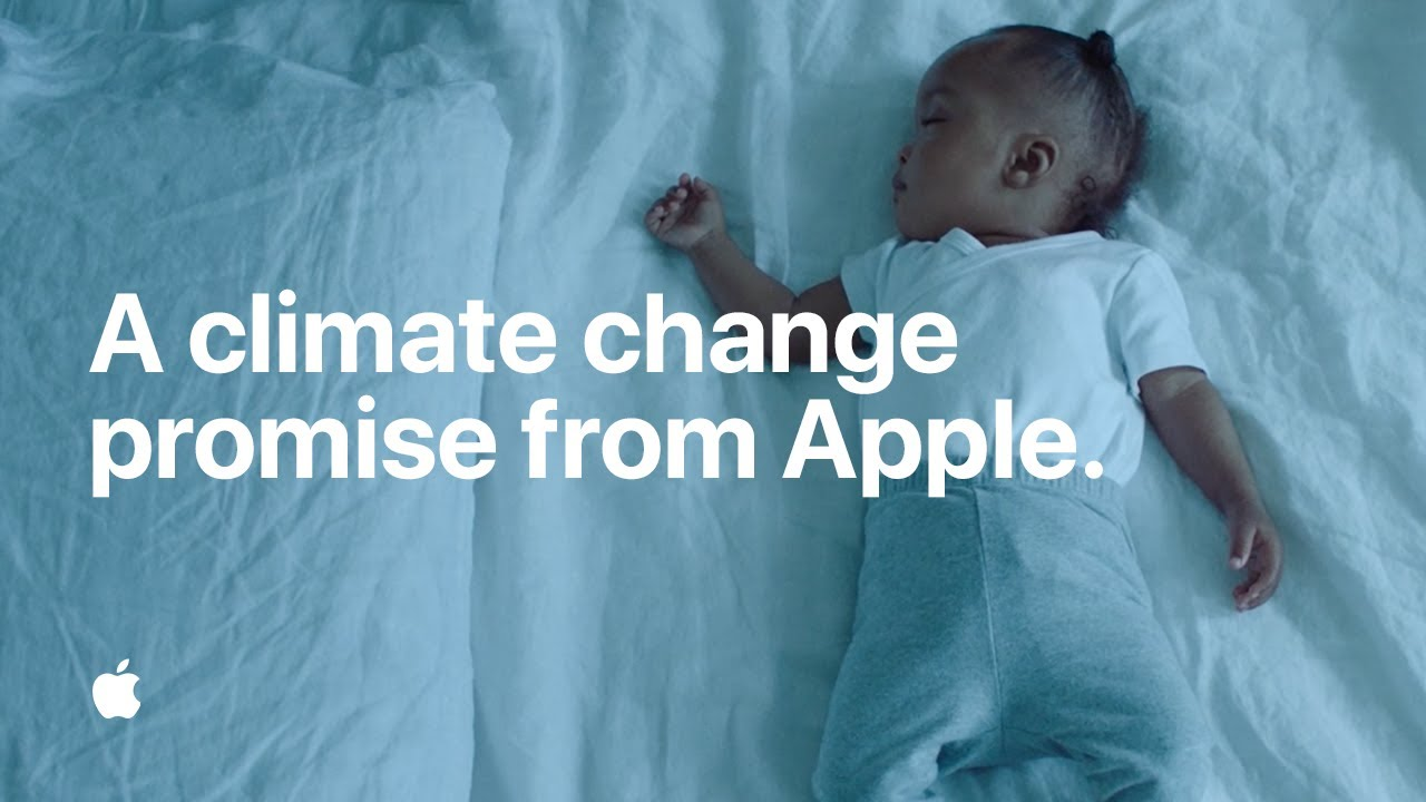 A climate change promise from Apple