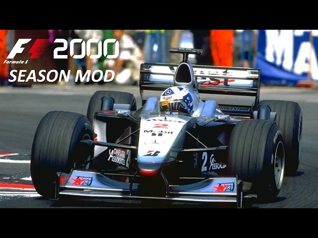 F1 2000 mod - Gameplay - David Coulthard