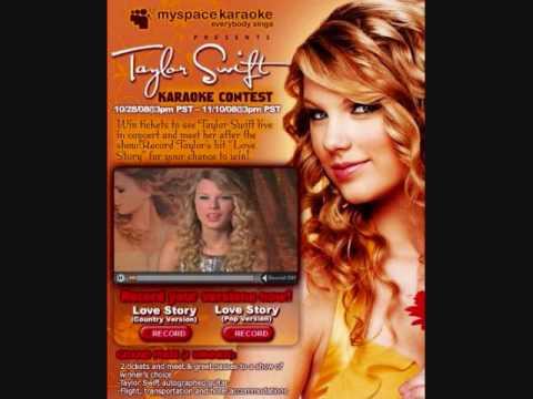 You're Not Sorry- Taylor Swift- Acoustic Guitar Karaoke- Kris Farrow