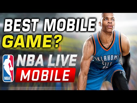 NBA Live Mobile Review - Best Cell Phone Game?
