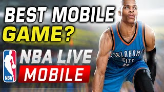 NBA Live Mobile Review - Best Cell Phone Game?(Troydan plays the new NBA Live Mobile game free for Android/Apple. ▻Follow Troydan @ Twitter: http://www.twitter.com/troydangaming ▻Watch Troydan live ..., 2016-02-20T00:54:08.000Z)