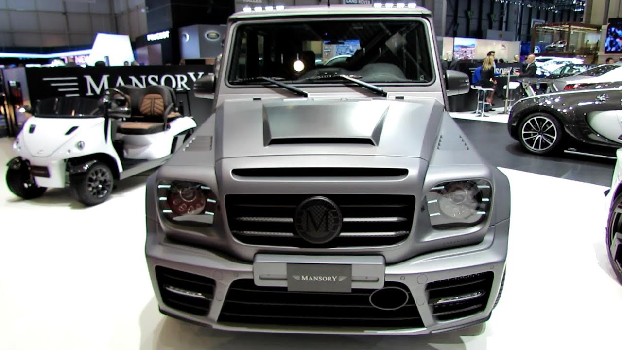 2014 mercedes benz g class g63 amg by mansory exterior interior walkaround 2014 geneva motor show youtube