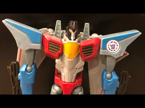 Transformers Robots in Disguise (2015) Warrior Class Starscream Review | TFG Television