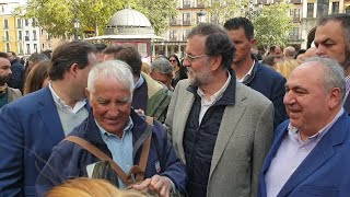 Rajoy pasea por Toledo
