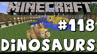 Minecraft Dinosaurs! - Back To The Dinosaurs! -  Part 118